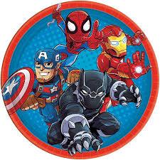 <b>Marvel</b> Super Hero Adventures Party Supplies - <b>Marvel</b> Birthday ...