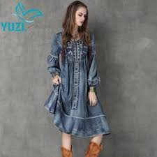 dresses | Zulily | Dresses in 2019 | Long <b>denim</b> dress, <b>Denim</b> skater ...