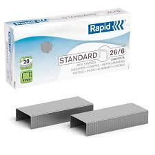 """Купить <b>Скобы для степлера RAPID</b> """"Standard"""", №24/6, 1000 штук ..."""