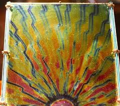 <b>Beautiful hand blown glass</b> panel - Picture of Nelly Bly II, Jerome ...