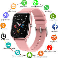 LIGE <b>IP68 Waterproof</b> Smart Watch <b>Women Lovely Bracelet</b> Heart ...
