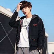 <b>Men's</b> Jacket Coat 2020 <b>Spring and Autumn</b> New Korean Casual ...