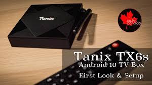 Tanix TX6s Allwinner H616 <b>Android 10 TV</b> Box - YouTube