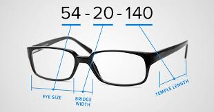 What do the numbers on your <b>eyeglass frames</b> mean?