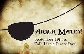 International Talk like a Pirate Day 2020 - National Awareness Days ...