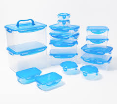 LocknLock 16-<b>Piece Storage</b> Set w/ <b>2</b> Handle Lids - QVC.com