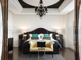 the chic allure of black bedroom furniture allure furniture