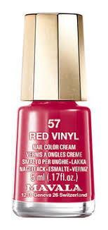 Mavala Switzerland Retro Colors <b>Nail</b> Сolor 910,57 Red <b>Vinyl</b> ...