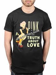 <b>Pink Truth About</b> Love New T Shirt Fans Merch P! Nk One Last Kiss ...