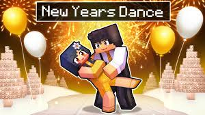 Our First <b>NEW YEARS DANCE</b> In Minecraft! - YouTube