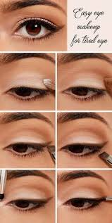 wow s now you can really get rid of tired eye after long working day by following this easy eye makeup steps