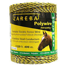 Zareba® 1320 ft (<b>400m</b>) Polywire, Model PW1320Y6-Z