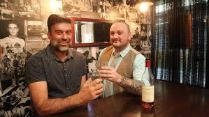 howlin wolf raising the bar illawarra mercury howlin wolf bar owner manny mavridis and bar manager jay cozma picture greg