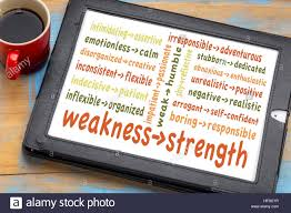 turn your weaknesses into strengths concept word cloud of stock stock photo turn your weaknesses into strengths concept word cloud of weakness strength pairs on a digital tablet coffee