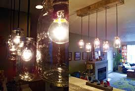 mason jar hanging light adapter austin mason jar pendant lamp
