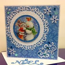 BeBunni Christmas Snowman, Crafters companion | Winter theme ...