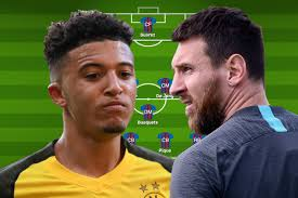 How Borussia Dortmund and Barcelona could line-up for ...