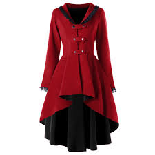 Wipalo 2019 New <b>Gothic Trench Autumn</b> Coat Women Back Lace ...