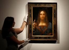 Da Vinci <b>portrait of Christ</b> sells for record $450.3 million in New York ...