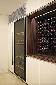 custom millwork wine cabinet bellevue custom wine cellar