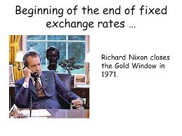 Image result for nixon closes gold window