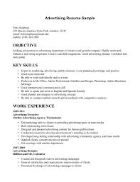 advertising resume advertising director resume advertising marketing resume examples essaymafiacom advertising assistant resume