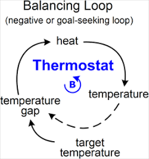 feedback loop   tool concept definitionanother example of a balancing loop is a thermostat  suppose you set the target temperature to  degrees  the higher the target the greater the temperature