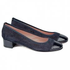 Синие перфорированные <b>туфли Lady Doc</b> 311 camoscio/vernice ...