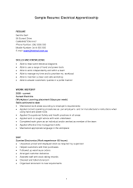 power plant electrician resume sample cipanewsletter construction apprentice resume