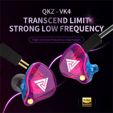 <b>QKZ VK4 Stereo</b> Wired Earphone Earbuds Bass Earphones 3.5mm ...