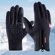 <b>Men</b> Winter <b>Gloves Windproof</b> Anti-Skid Driving Riding <b>Cycling</b> ...
