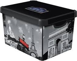 Коробка декоративная <b>Curver</b> Deco's <b>Stockholm</b> S 04710-P35-00 ...