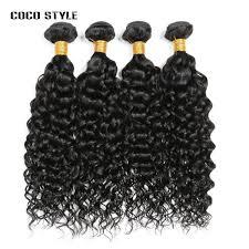 8A Grade <b>Water</b> Wave 100% <b>Ali Sky</b> Human <b>Hair</b> Bundles Deal No ...
