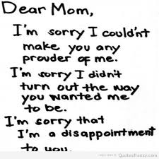 Sorry Mom Quotes. QuotesGram
