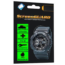 PREMIUM <b>Military</b> Grade Cool <b>Classic Anti Shock</b> Film for Casio ...