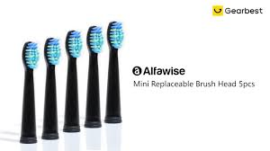 <b>Mini Replaceable Brush</b> Head 5pcs - Gearbest.com - YouTube
