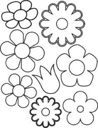 Small Picture Spring Flower Coloring Pages Flowers Coloring Sheet Templates