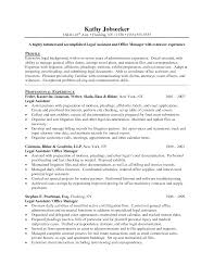cover letter samples legal assistant