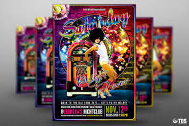 disco revival flyer template psd design for photoshop v  saturday night fever disco flyer template