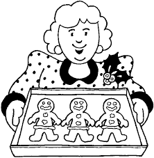 Small Picture Christmas Cookies Coloring Page