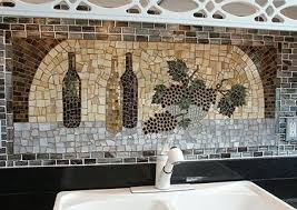 grapes grape themed kitchen rug: wine and grape mosaic by lori desormeaux