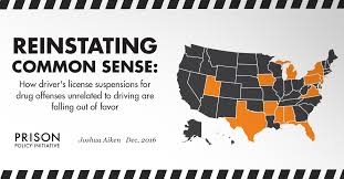 Reinstating Common Sense: How driver's license suspensions for ...