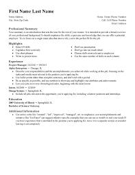 standard design resume template standard resume format template