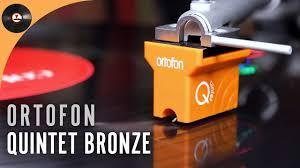 Обзор <b>головки звукоснимателя Ortofon</b> Quintet Bronze - YouTube