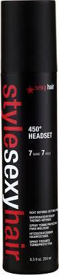 <b>SexyHair</b> StyleSexyHair 450° Headset Heat Defense Setting Spray ...