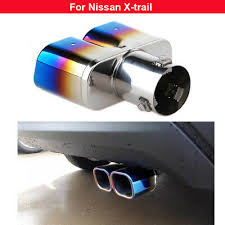 1pcs Colorful <b>Exhaust Muffler Tail Pipe</b> Tip Tailpipe For Toyota Yaris ...