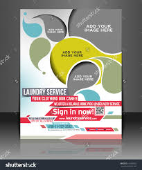 vector laundry service flyer magazine cover stock vector 145450762 vector laundry service flyer magazine cover poster template