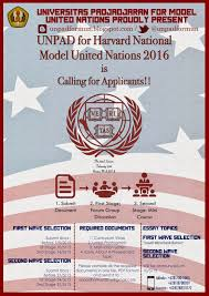 universitas padjadjaran for model united nations  founded in 1955 only a decade after the creation of the united nations harvard national model united nations hnmun is the largest oldest