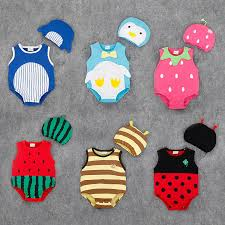 2017 New Style Fruit Romper Brand Baby Clothes Strawberry ...