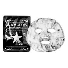 <b>GlamGlow BUBBLESHEET Очищающая тканевая</b> маска для лица ...